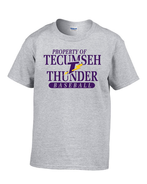 Property of Tecumseh Thunder Youth Tee