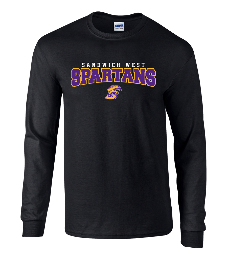 Spartans Youth Cotton Long Sleeve Shirt