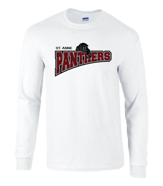 Panthers Youth Cotton Long Sleeve Shirt