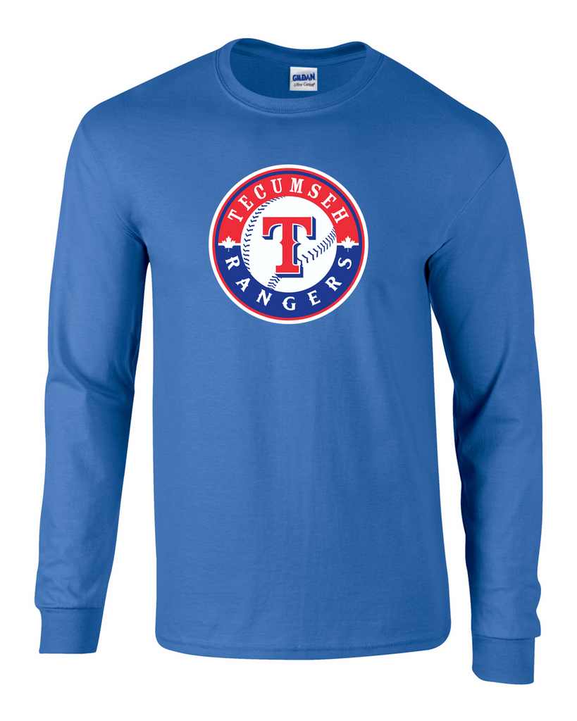 Rangers Adult Cotton Long Sleeve