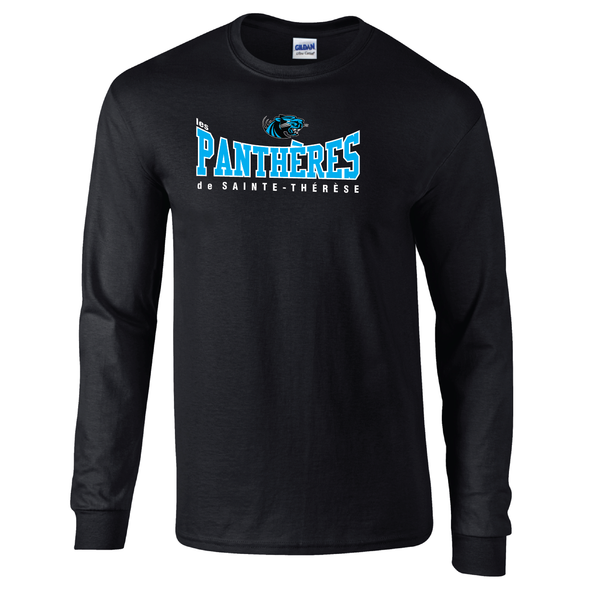 Pantheres Adult Cotton Long Sleeve with Printed Logo