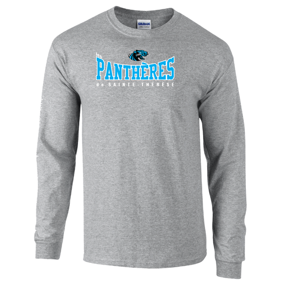 Pantheres Youth Cotton Long Sleeve with Printed Logo