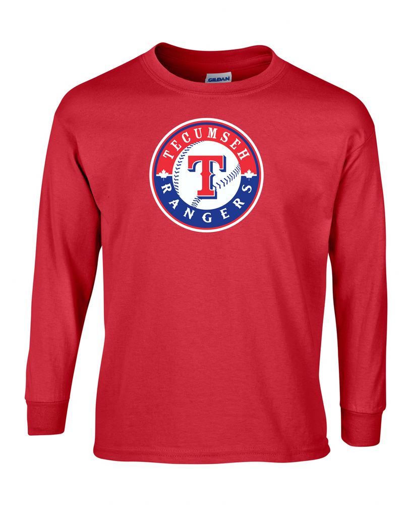 Tecumseh Rangers Youth Cotton Long Sleeve