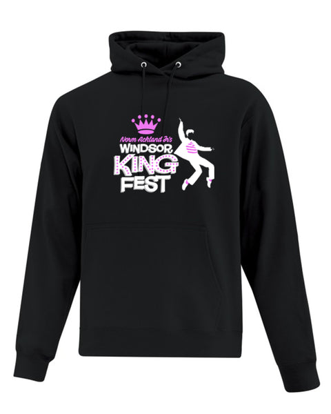 King Fest Adult Fleece Hooded Sweatshirt - Full Colour Imprint