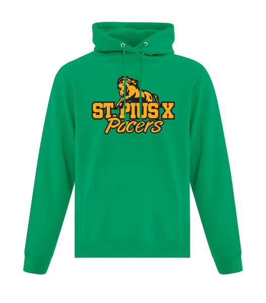 Pacers Adult Cotton Hooded Sweatshirt with Embroidered Applique Logo & Personalization