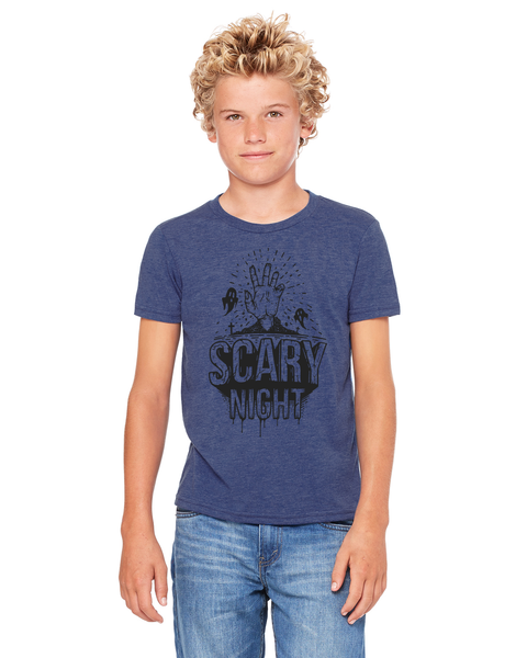 Scary Night Youth / Adult Short-Sleeve T-Shirt
