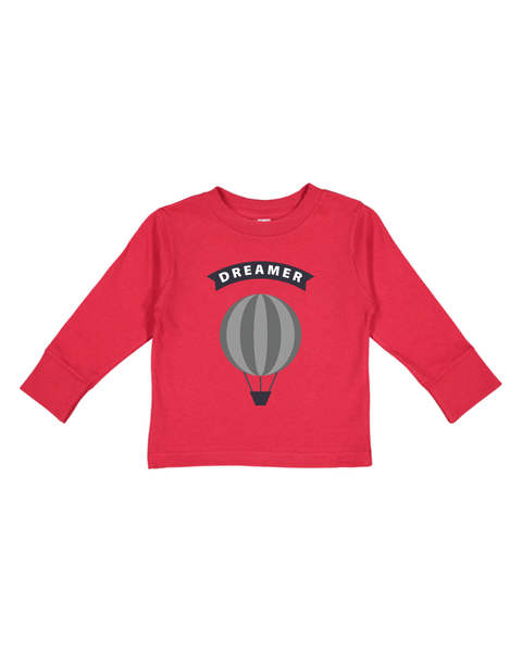 Dreamer Toddler Long Sleeve Shirt