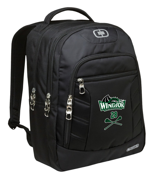 Warlocks Backpack with Printed Logo and number