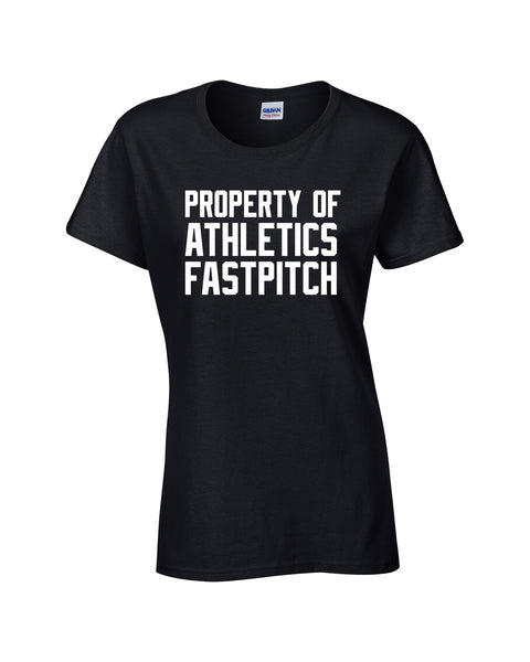 LaSalle Athletics 'Property Of' Ladies Cotton Tee