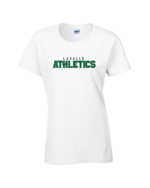 Athletics Ladies 'Outline Block' Cotton Tee