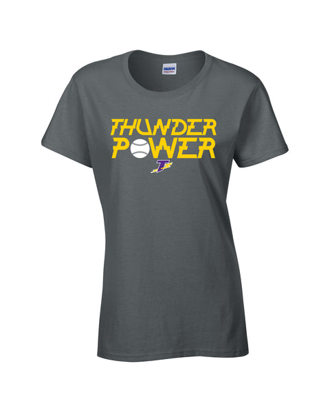 Thunder Ladies 'Thunder Power' Cotton Tee