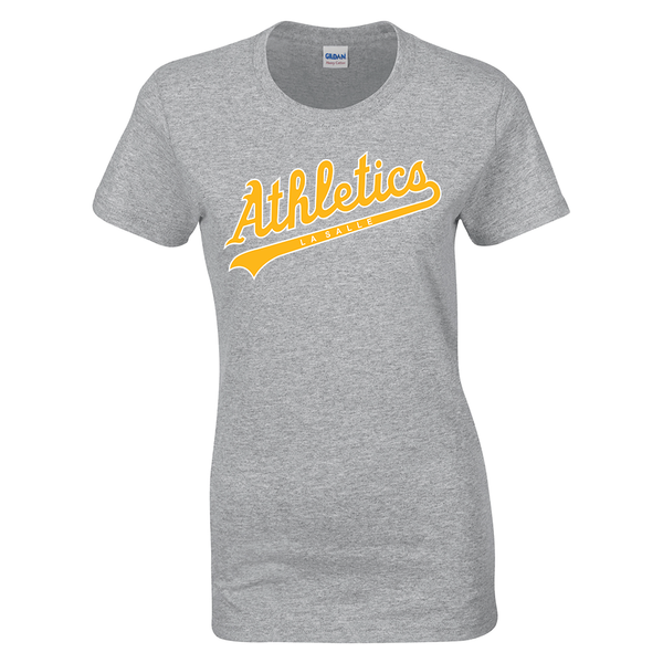 LaSalle Athletics Ladies Cotton Tee