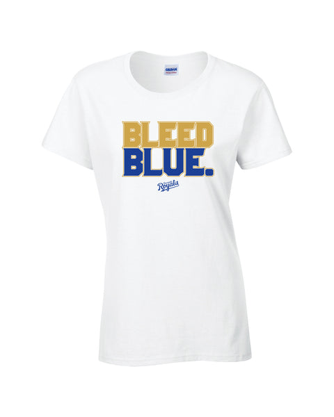 Royals Ladies 'Bleed Blue' Cotton Tee