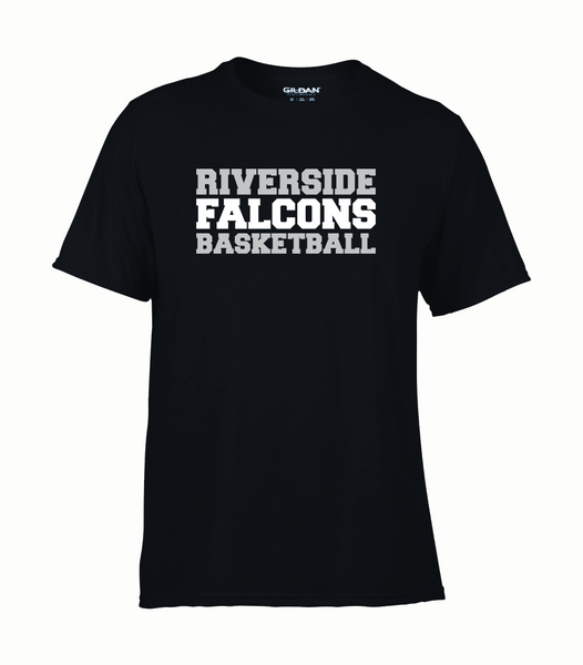 "Falcons Youth ""Basketball"" Performance T-Shirt with Printed logo"