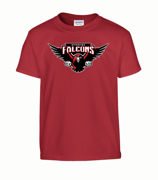 Falcons Youth Cotton T-Shirt with Printed logo