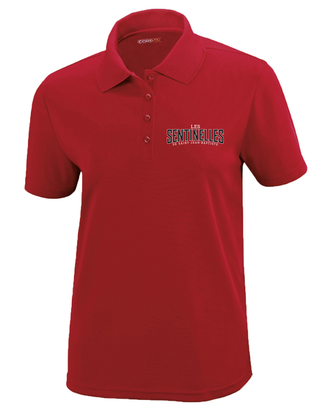 Sentinelles Ladies Piqué Polo with Embroidered Logo