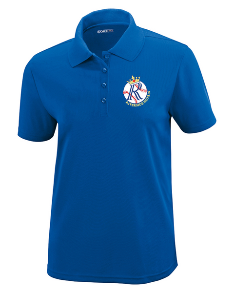 Riverside Minor Baseball Ladies Polo