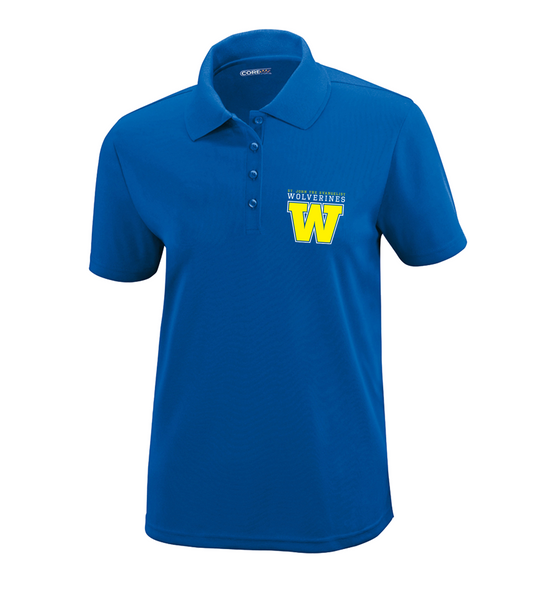 Wolverines Staff Ladies Dri-Fit Polo