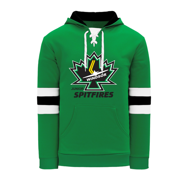 Minor Hockey Youth Lace Hoodie with Embroidered Applique logo