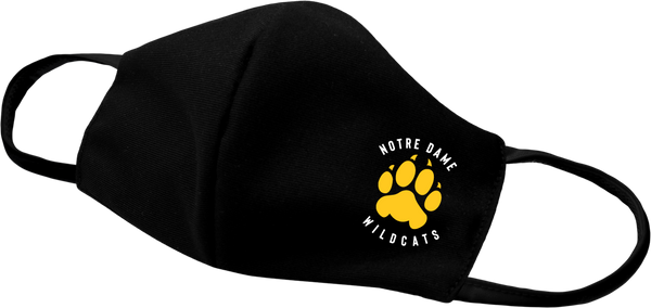 Wildcats Paw Face Mask with printed logo