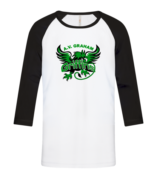 Griffins Youth Cotton Baseball Tee
