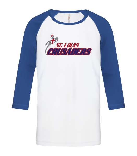 Crusaders Adult Cotton Baseball Tee