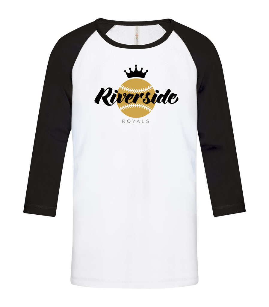 Royals Youth 'Vintage Logo' Baseball Tee