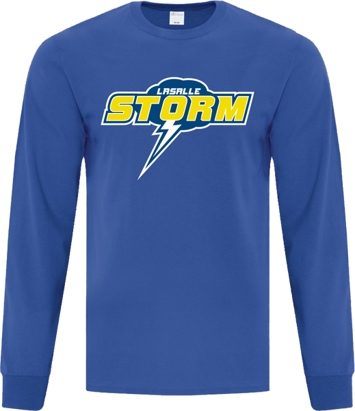 Storm Cotton Long Sleeve with Printed Logo ADULT