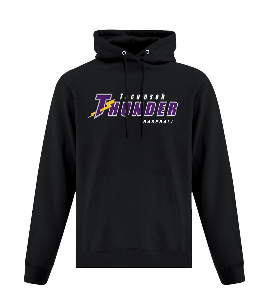 Thunder Adult Hooded Sweatshirt With Applique Logo