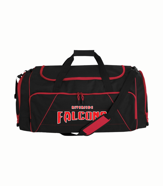 Falcons Duffel Bag with Vinyl Imprint and number