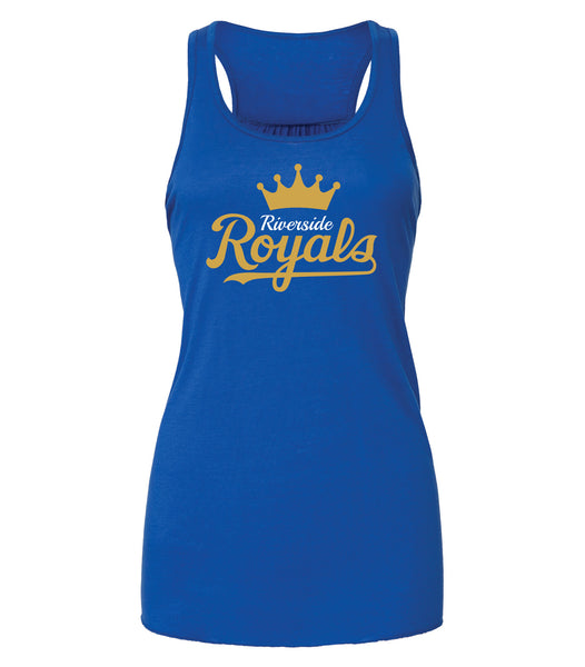Riverside Royals 'Crown Script' Ladies Tanktop