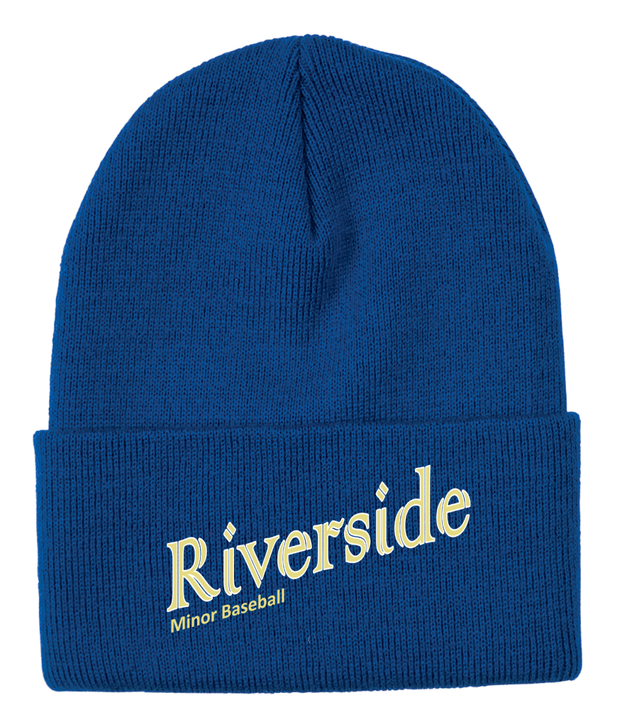 Riverside Minor Baseball Knit Toque