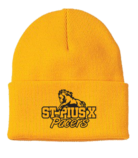 Pacers Knit Toque with Embroidered Logo
