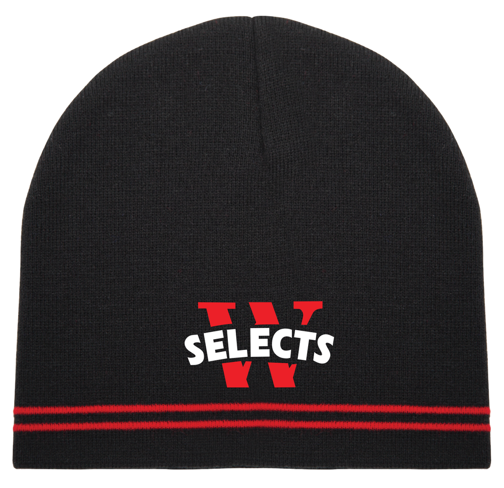 Windsor Selects Double Stripe Knit Beanie