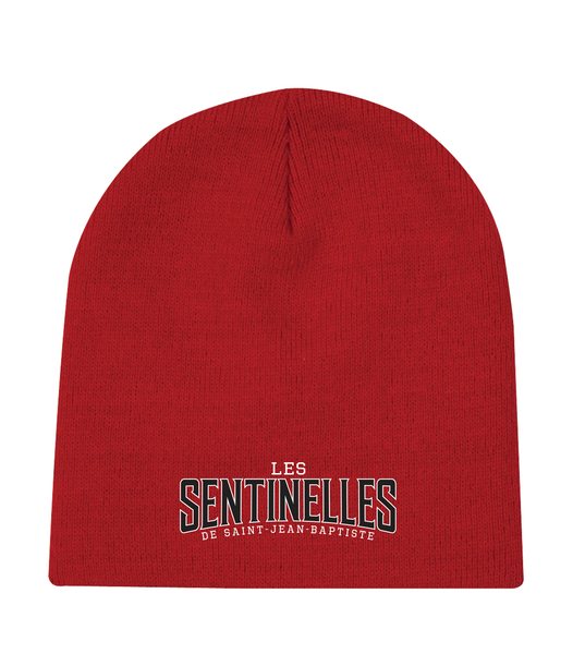 Sentinelles Knit Skull Cap with Embroidered Logo