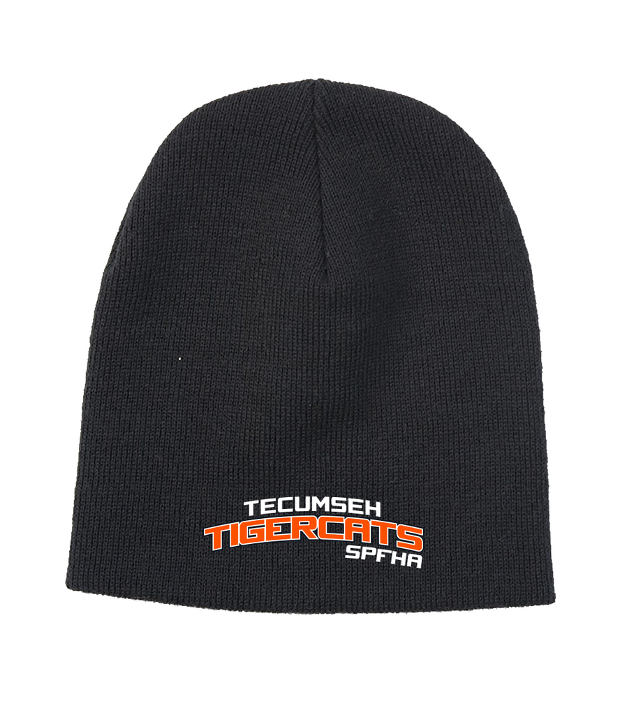 Tiger Cats Knit Cap with Embroidered Logo
