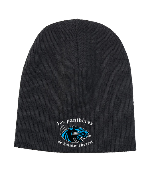 Pantheres Knit Skull Cap with Embroidered Logo