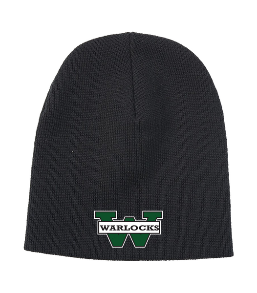Warlocks Knit Skull Cap with Embroidered Logo