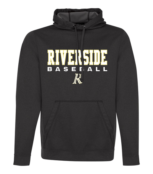 Riverside Baseball 'Stacked' Youth Dri-Fit Hoodie