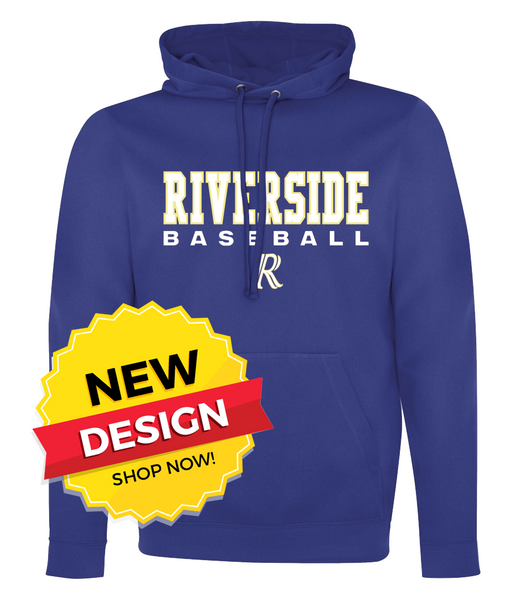 Riverside Baseball 'Stacked' Youth/Adult Dri-Fit Hoodie