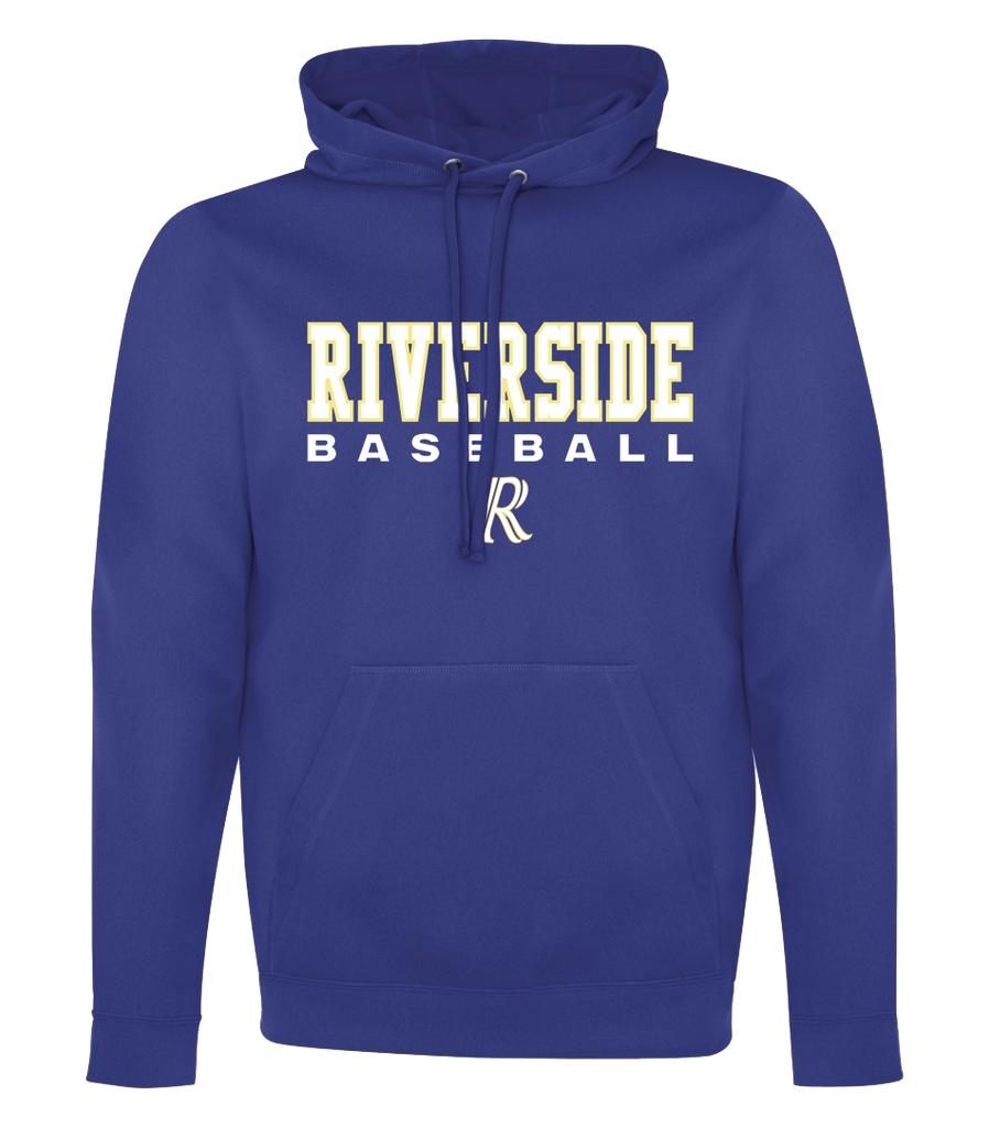 Riverside Baseball 'Stacked' Adult Dri-Fit Hoodie