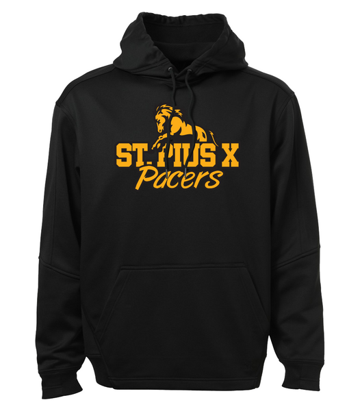 Pacers Adult Dri-Fit Hoodie with Embroidered Applique Logo & Personalization