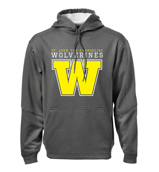 Wolverines Adult Dri-Fit Hoodie with Embroidered Applique Logo & Personalization
