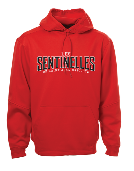 Sentinelles Adult Dri-Fit Hoodie with Embroidered Applique Logo