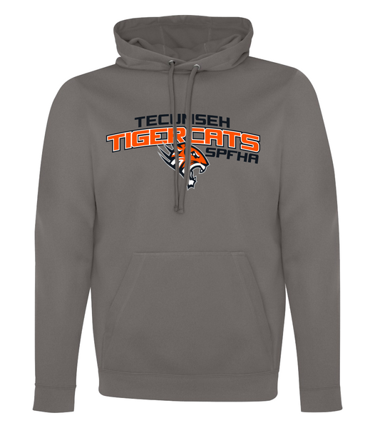 Tiger Cats Dri-Fit Youth Hoodie with Embroidered Applique & Personalization