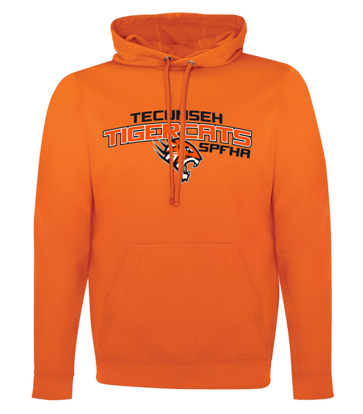 Tiger Cats Dri-Fit Adult Hoodie with Embroidered Applique & Personalization