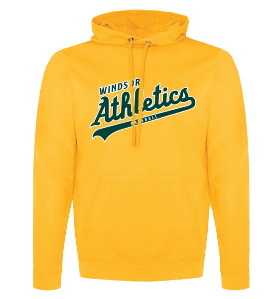 Windsor Athletics Adult Dri-Fit Hoodie with Embroidered Applique Logo & Personalization
