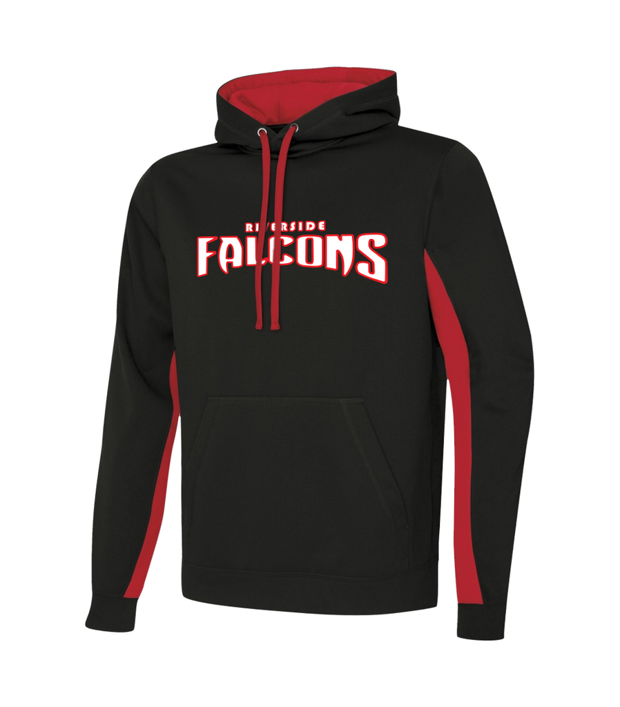 Falcons Youth Two Toned Sweatshirt with Embroidered Applique Logo