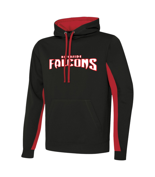 Falcons Adult Two Toned Sweatshirt with Embroidered Applique Logo