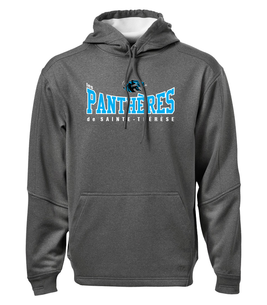 Pantheres Adult Dri-Fit Hoodie with Embroidered Applique Logo
